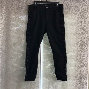 jcpenney Jeans - Black jean with laces